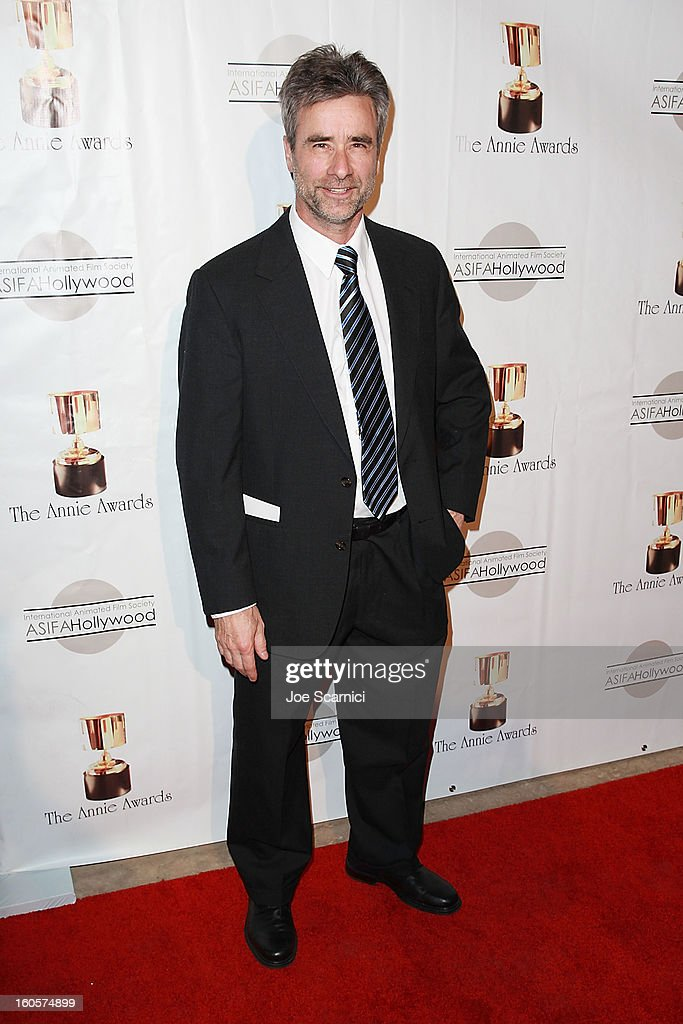 Mark Marek arrive at the 40th Annual Annie Awards at Royce Hall on the UCLA Campus on February 2, 2013 in Westwood, California.