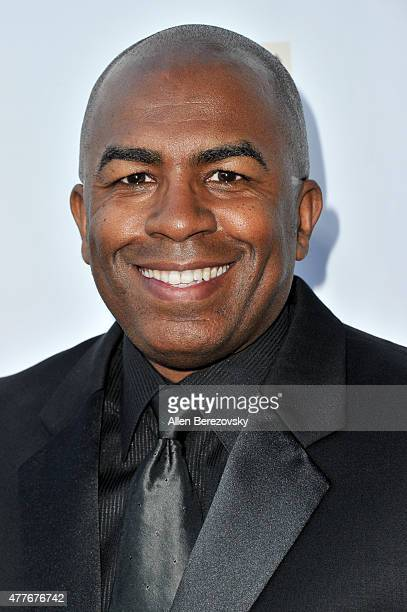 Mark Martin attends the Black AIDS Institute 2015 Heroes in the Struggle Reception Gala and Awards Ceremony at Directors Guild Of America on June 18...