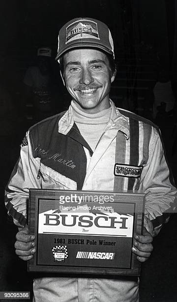 NASHVILLE TN JULY 11 Mark Martin would win the 1981 Pole winner for the Busch Nashville 420 He would place in 11th and take home $2025 for the race