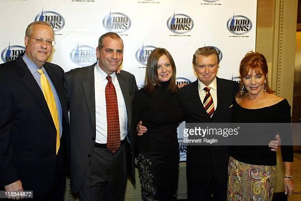 Mark Mason Stan Janoff Judi Giuliani Regis Philbin and wife Joy Philbin