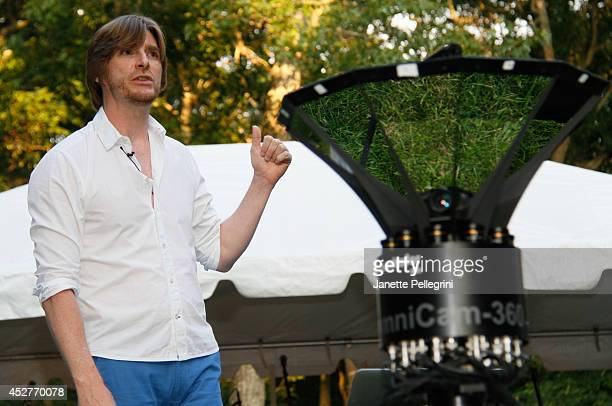 Mark Masterson attends Livestage Summer Splash For the Love of Music Launch Event on July 26 2014 in East Hampton New York