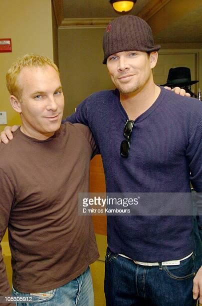 Mark McGrath and David Pinsky during 2004 Park City - Motorola Lodge at Motorolla House in Park City, Utah, United States.