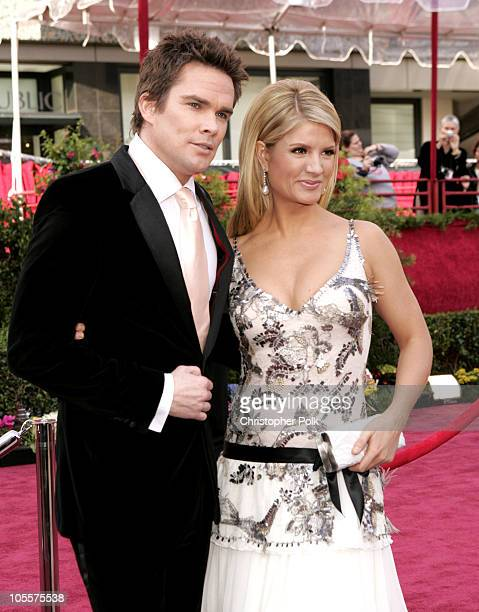 Mark McGrath and Dayna Devon during The 77th Annual Academy Awards - Arrivals at Kodak Theatre in Los Angeles, California, United States.
