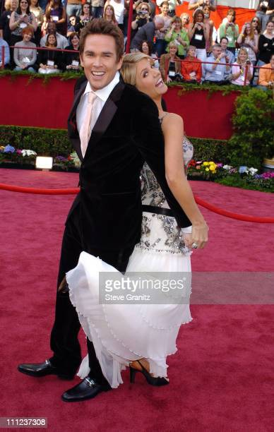Mark McGrath and Dayna Devon during The 77th Annual Academy Awards Arrivals at Kodak Theatre in Hollywood California United States