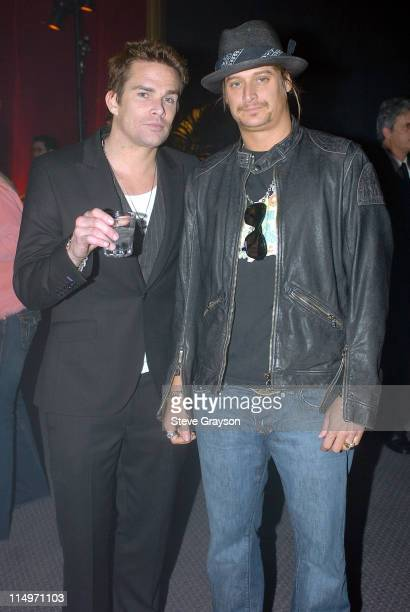 Mark McGrath and Kid Rock during The 47th Annual GRAMMY Awards - Salute to Industry Icons at Staples Center in Los Angeles, California, United States.