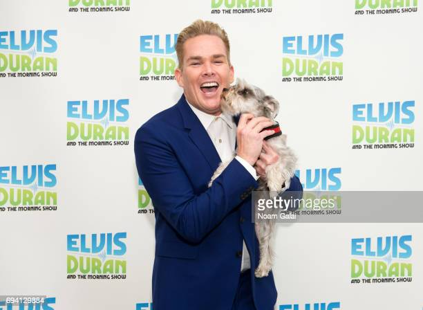 Mark McGrath and Max Duran visit The Elvis Duran Z100 Morning Show at Z100 Studio on June 7 2017 in New York City