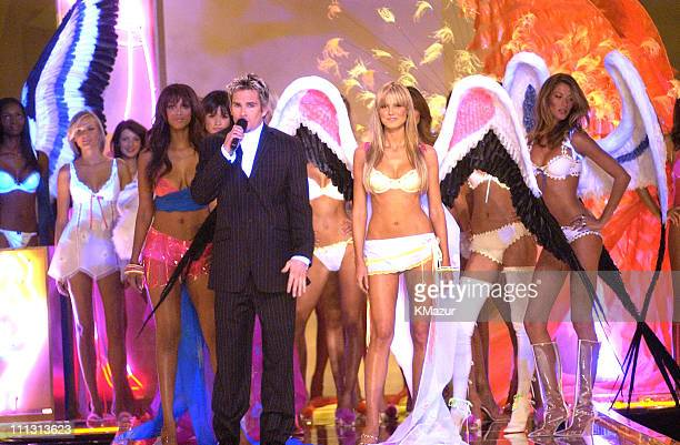 Mark McGrath and Victoria's Secret Models during 8th Annual Victoria's Secret Fashion Show - Runway at The New York State Armory in New York City,...