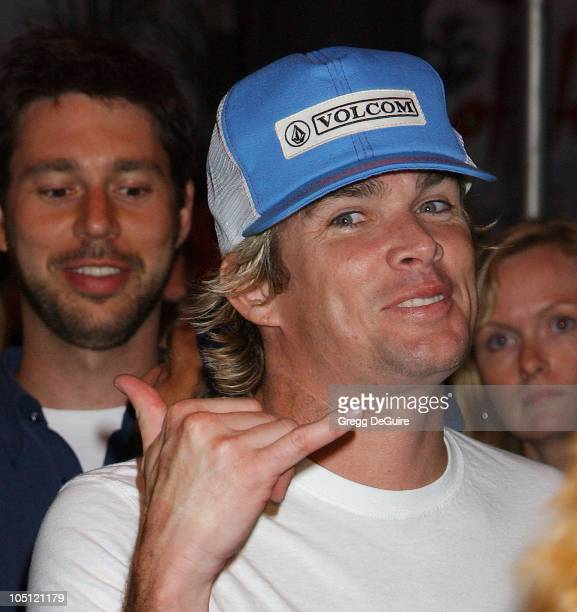Mark McGrath arrives at the Duran Duran Concert at The Roxy presented by DKNY Jeans and The Fader
