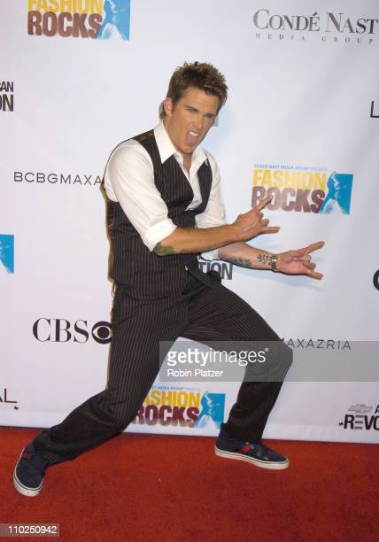 Mark McGrath during 2005 Fashion Rocks - Red Carpet at Radio City Music Hall in New York City, New York, United States.