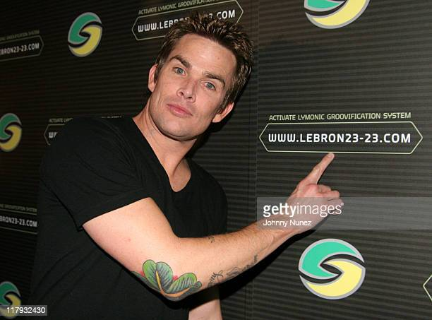 Mark McGrath during 2007 NBA AllStar in Las Vegas Sprite Celebates Lebron James' Theme Song February 16 2006 at Light Nightclub Bellagio Resort in...
