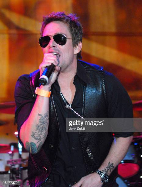 Mark McGrath during Camp Freddy Concert to Launch the Orange County Performing Arts Center October 20 2006 at Samueli Theater California United States