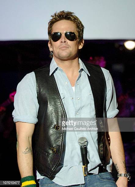 Mark McGrath during Kohl's and Conde Nast Host Kohl's Transformation Nation Fall Fashion Show - Inside and Show at Santa Monica Pier in Santa Monica,...