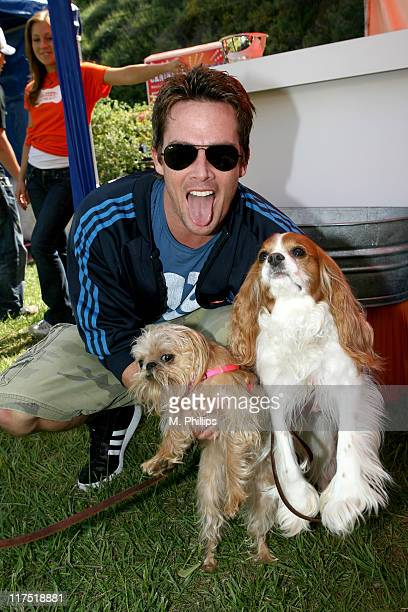 Mark McGrath during Old Navy Nationwide Search for New Canine Mascot - April 29, 2006 at Franklin Canyon Park in Beverly Hills, California, United...