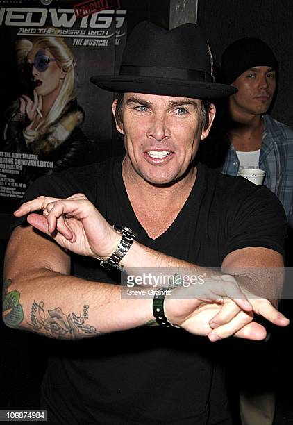 """Mark McGrath during Smashbox Cosmetics and the Roxy Theater Present """"Hedwig And The Angry Inch"""" - Arrivals at Roxy Theatre in West Hollywood,..."""