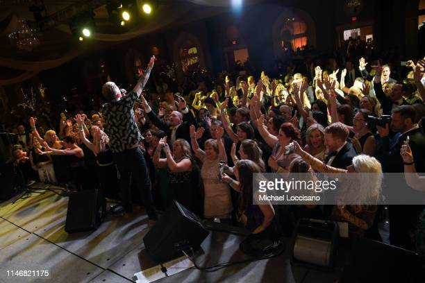 Mark McGrath performs onstage during the 145th Kentucky Derby Unbridled Eve Gala at The Galt House Hotel Suites Grand Ballroom on May 03 2019 in...