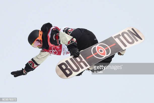 Mark McMorris of Canada competes during the Men's Big Air Final on day 15 of the PyeongChang 2018 Winter Olympic Games at Alpensia Ski Jumping Centre...
