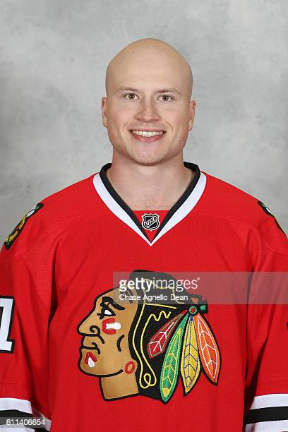 Mark McNeill of the Chicago Blackhawks poses for his official headshot for the 20162017 season on September 21 2016 at the United Center in Chicago...