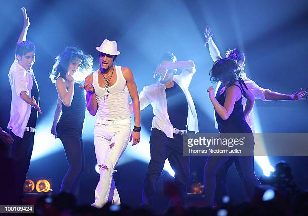 Mark Medelock performs at 'The Dome 54' at the Hanns-Martin Schleyer Halle on May 20, 2010 in Stuttgart, Germany. On May 20, 2010 in Stuttgart,...