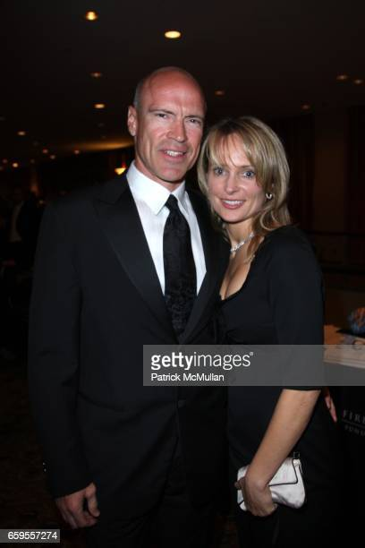 Mark Messier and Kim Messier attend the New York Police and Fire Widow's and Children's Benefit Fund's 24th Annual Dinner at the New York Hilton on...