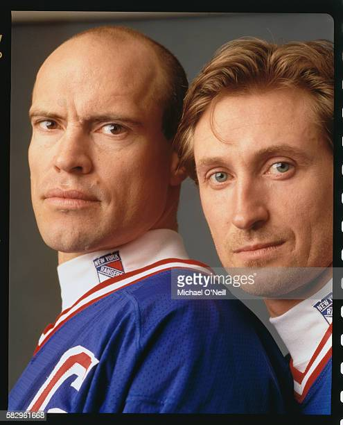 Mark Messier and Wayne Gretzky