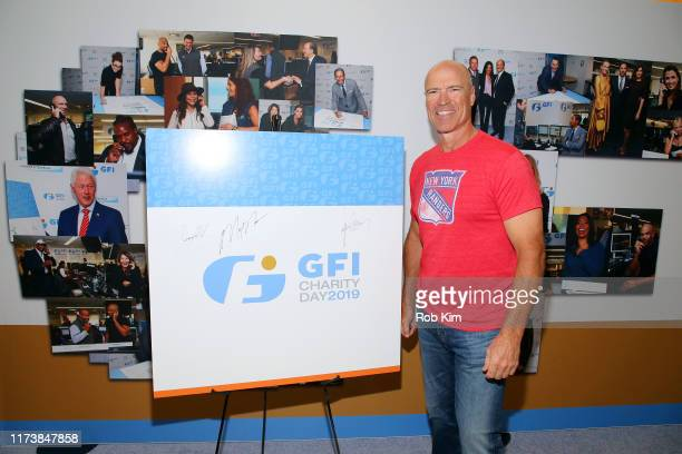 Mark Messier attends Annual Charity Day Hosted By Cantor Fitzgerald BGC and GFI on September 11 2019 in New York City