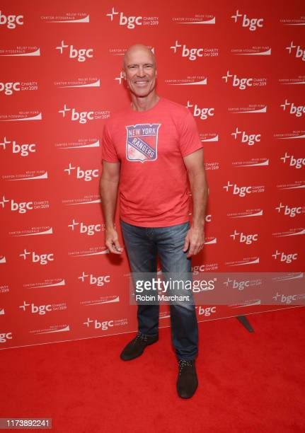 Mark Messier attends Annual Charity Day Hosted By Cantor Fitzgerald, BGC and GFI - BGC Office – Inside on September 11, 2019 in New York City.