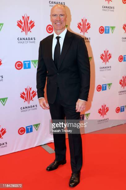 Mark Messier attends the 2019 Canada's Walk Of Fame on November 23 2019 in Toronto Canada at Metro Toronto Convention Centre on November 23 2019 in...