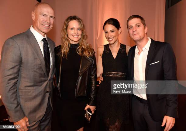 Mark Messier Kim Clark Marisol Thomas and Rob Thomas attend the Samsung annual charity gala 2017 at Skylight Clarkson Sq on November 2 2017 in New...