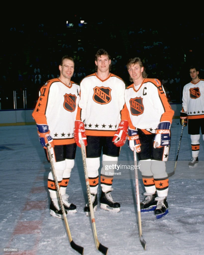 1988 39th NHL All-Star Game: Wales Conference v Campbell Conference : News Photo