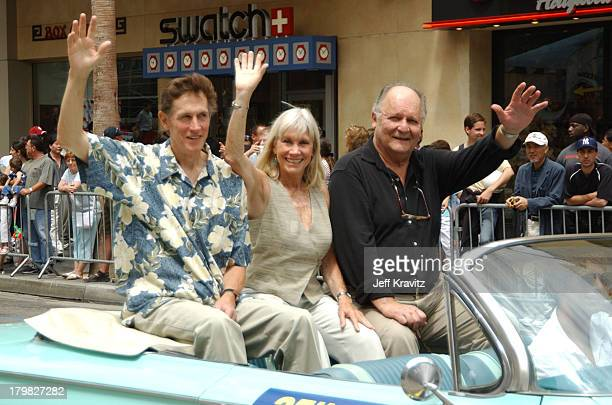 Mark Metcalf Verna Bloom and John Vernon during Animal House 25th Anniversary Ultimate Homecoming Parade DVD Release Extravaganza at Hollywood...