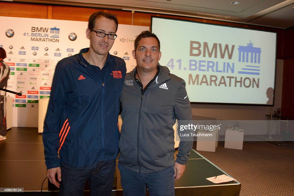 41st BMW Berlin Marathon - Press Conference : News Photo