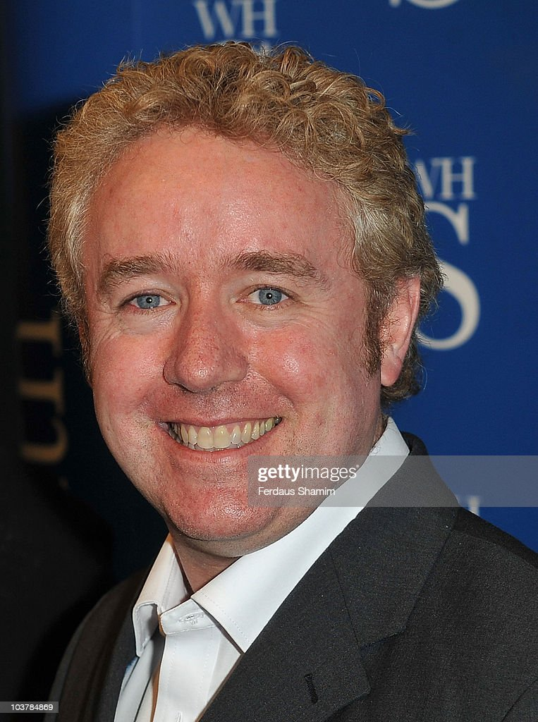 Mark Millar and Jonathan Ross Sign Copies of Their New Comic 'CLiNT' : News Photo