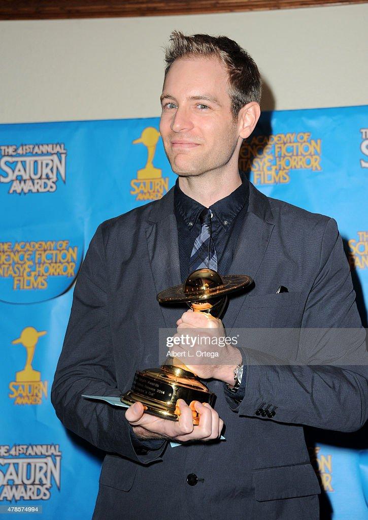 41st Annual Saturn Awards - Press Room : News Photo