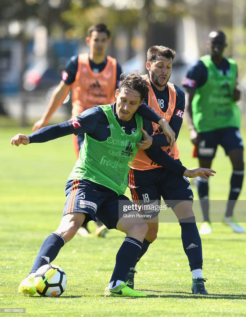Melbourne Victory Training Session