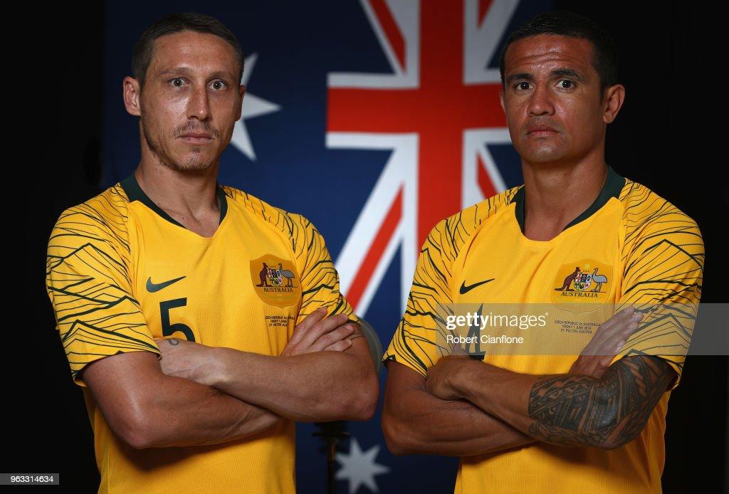 Australian Socceroos Portrait Session : News Photo