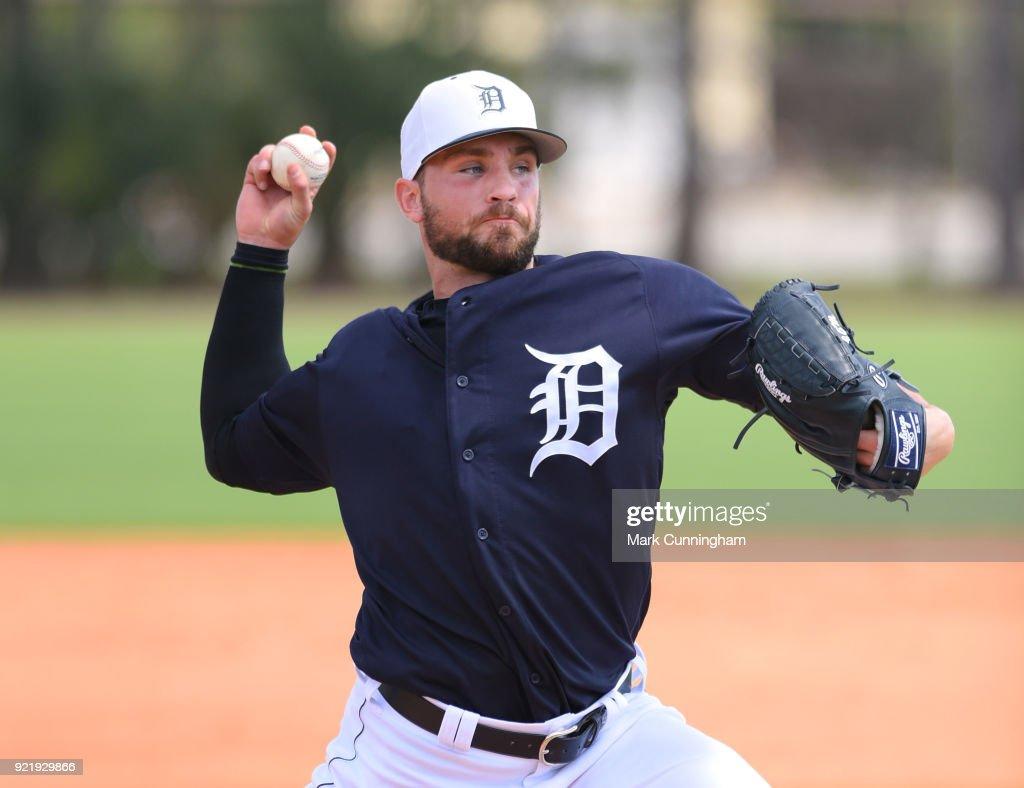 Detroit Tigers Workouts : News Photo