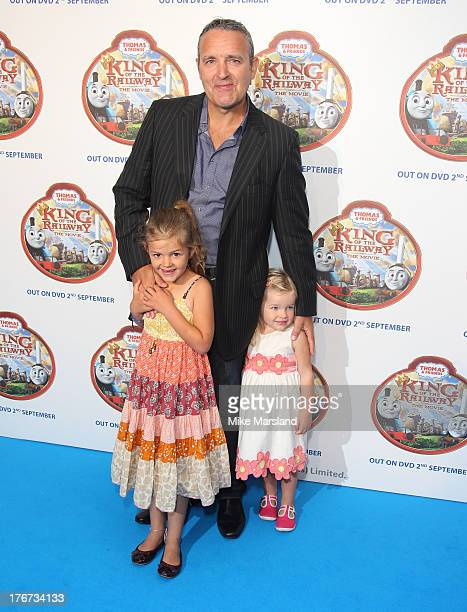 Mark Moraghan attends VIP Screening of Thomas & Friends: King Of The Railway at Vue Leicester Square on August 18, 2013 in London, England.
