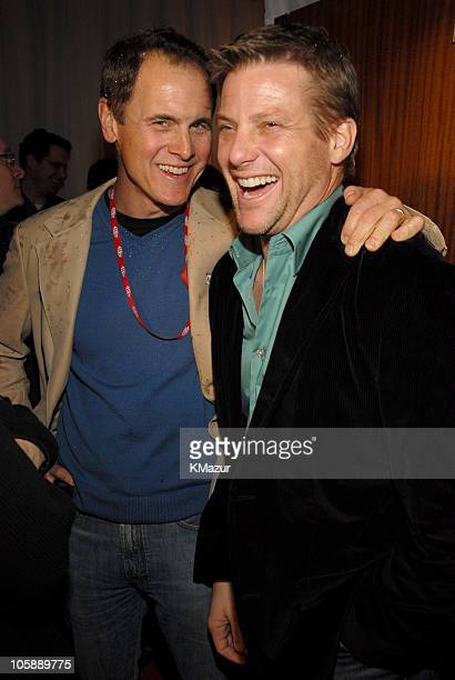 Mark Moses and Doug Savant during Super Bowl XL Maxim Rocks Detroit With a Rock City Opera at Max M Fisher Music Center in Detroit Michigan United...
