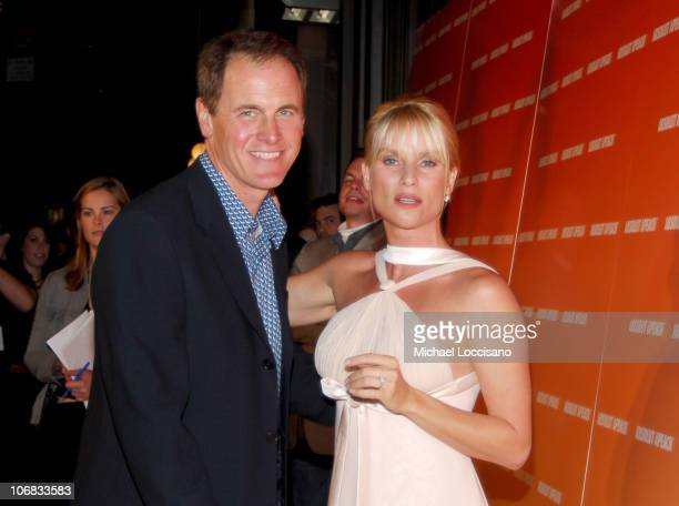 Mark Moses and Nicollette Sheridan during Desperate Housewife Nicollette Sheridan Joins ABSOLUT to Host the Launch of their New Flavor APEACH at Koi...