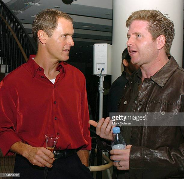 Mark Moses and Steve McPherson during 'Desperate Housewives' Series Premiere Party Inside at Barney's in Beverly Hills California United States
