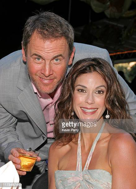 Mark Moses and Teri Hatcher during Festival of Arts Pageant of the Masters Gala Benefit Hosted by Teri Hatcher at Irvine Bowl in Laguna Beach...