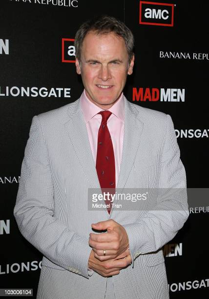Mark Moses arrives to AMC's 'Mad Men' season 4 premiere held at Mann Chinese 6 on July 20 2010 in Los Angeles California