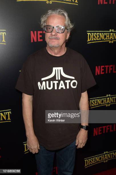 Mark Mothersbaugh attends the screening of Netflix's 'Disenchantment' at the Vista Theatre on August 14 2018 in Los Angeles California