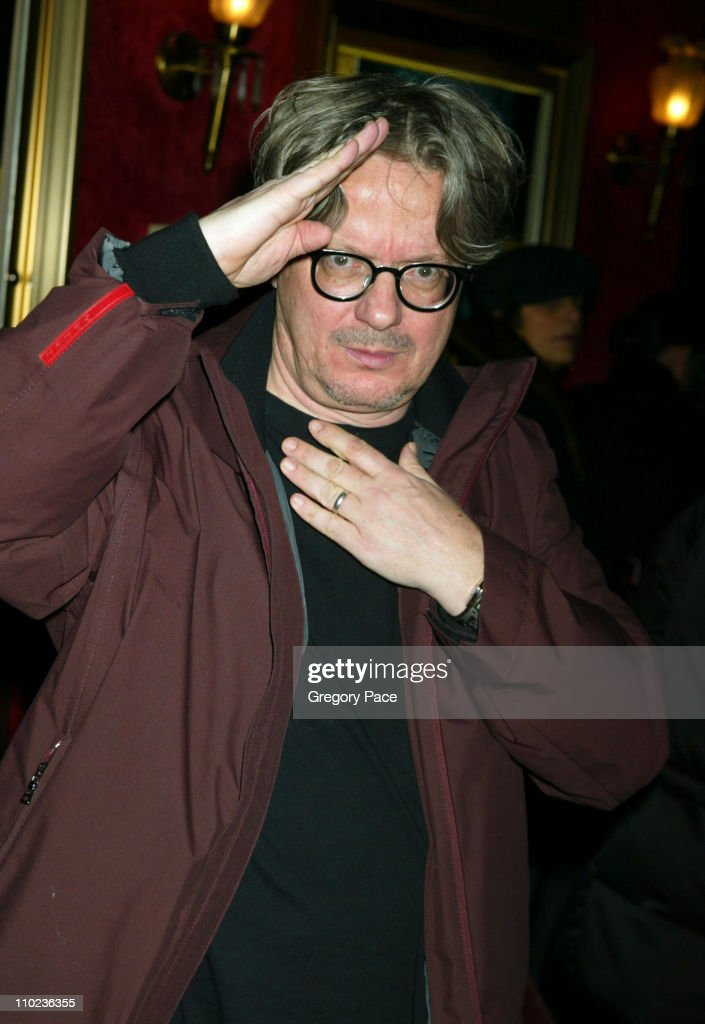 Mark Mothersbaugh during 'The Life Aquatic with Steve Zissou' New York City Premiere - Inside Arrivals at Ziegfield Theater in New York City, New York, United States.