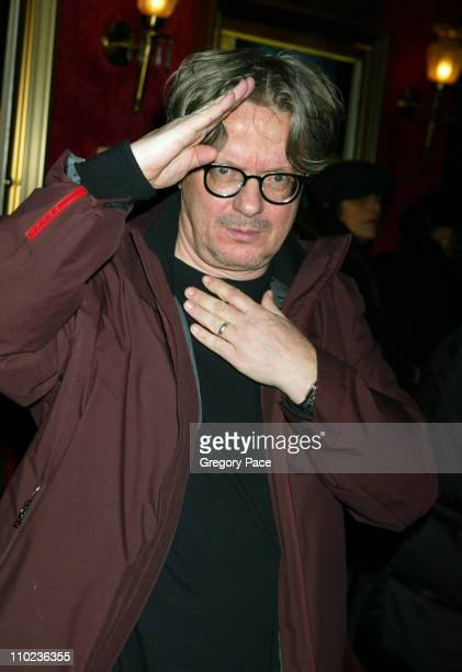 Mark Mothersbaugh during 'The Life Aquatic with Steve Zissou' New York City Premiere Inside Arrivals at Ziegfield Theater in New York City New York...