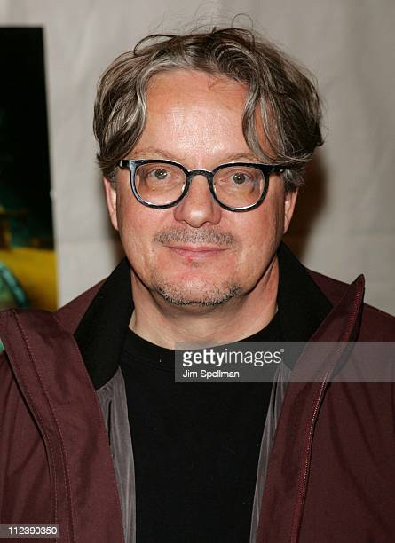Mark Mothersbaugh during 'The Life Aquatic with Steve Zissou' New York City Premiere Outside Arrivals at Ziegfeld Theater in New York City New York...