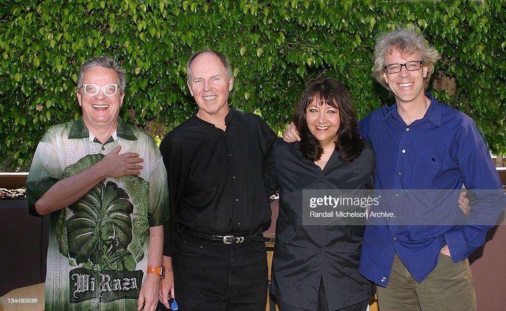 Mark Mothersbaugh, George S. Clinton, Doreen Ringer Ross of BMI & Stewart Copeland