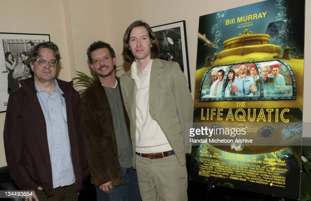 Mark Mothersbaugh Jonathan McHugh and Wes Anderson
