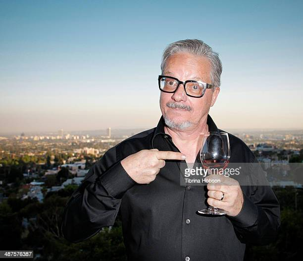 Mark Mothersbaugh of Devo attends the '50 By 50' launch tasting event hosted by founder Gerald Casale at Kun House on April 30 2014 in Los Angeles...