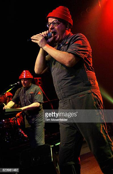 Mark Mothersbaugh of Devo performs at the Austin Music Hall as part of SXSW 2009 on March 20 2009 in Austin Texas Photo by Tim Mosenfelder / Tim...